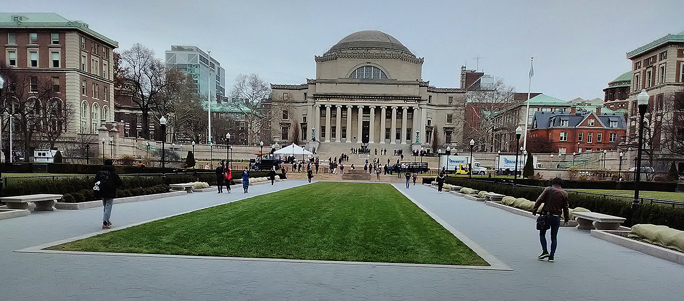 Columbia University's famous Low Memorial Library.