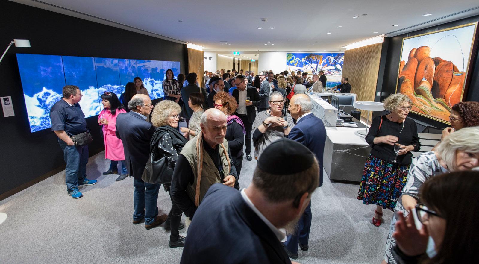 Guests at Gandel Gallery