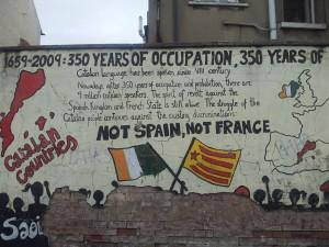 Graffito in Belfast (c) Miriam Saward