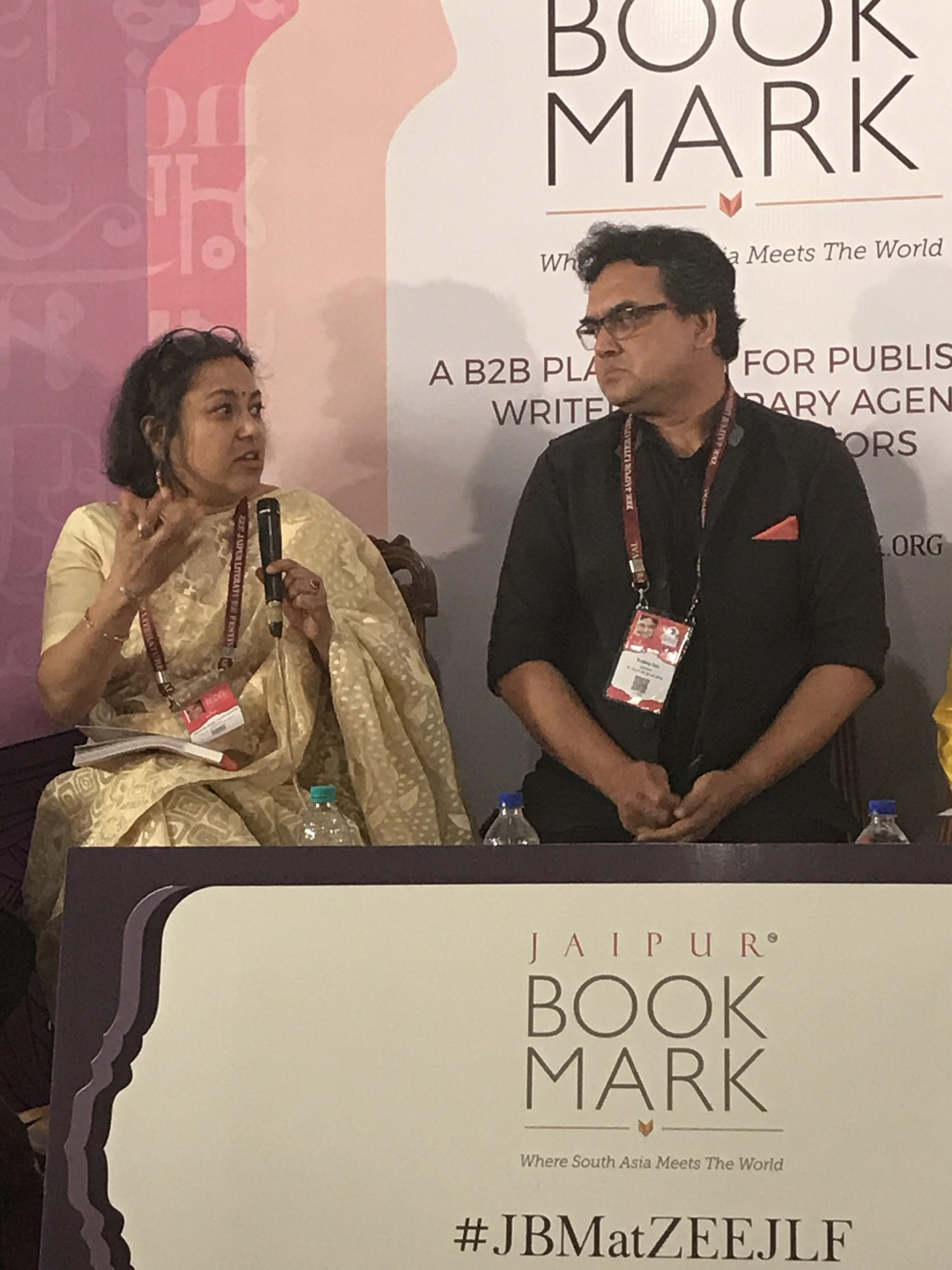 Dr Mridula Chakraborty speaks at Zee Jaipur Literary Festival