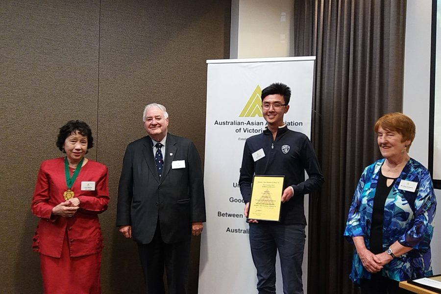 Monash University Korean Studies Student Wins Language Award