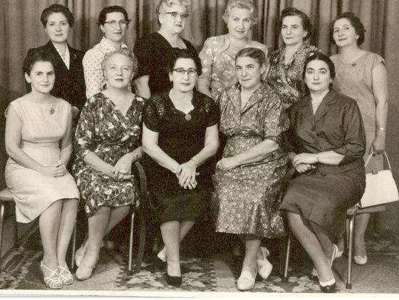 Bund ladies auxiliary circa 1952