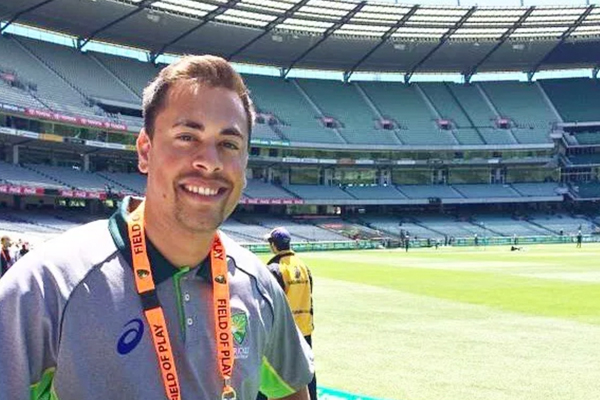 AARON PEREIRA - DIGITAL CONTENT PRODUCER, CRICKET AUSTRALIA