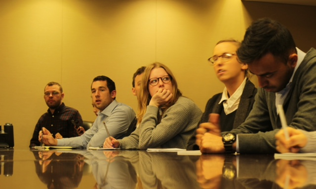 New York journalism tour inspires Masters students