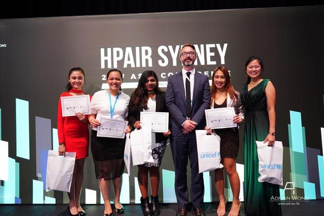 Aspiring diplomat wins UNICEF impact challenge