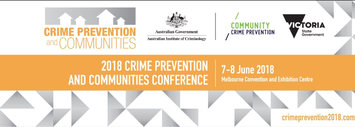 Keynote by Rebecca Wickes at forthcoming Crime Prevention & Communities conference