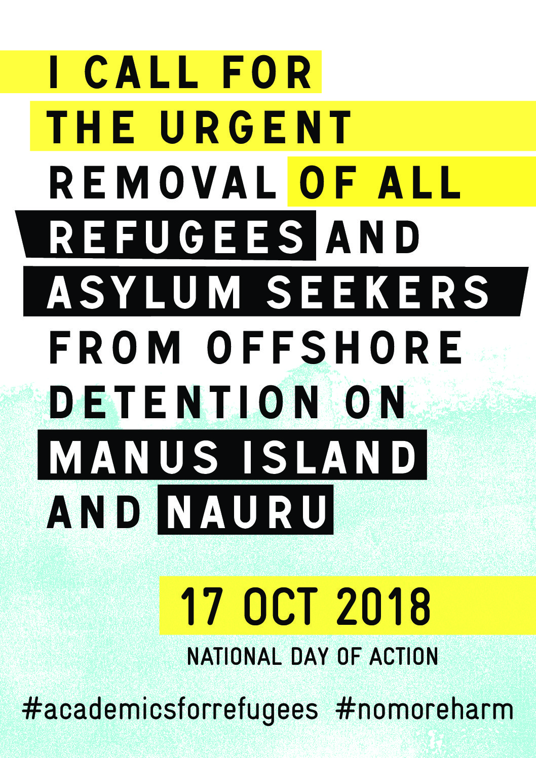 National Day of Action for Refugees