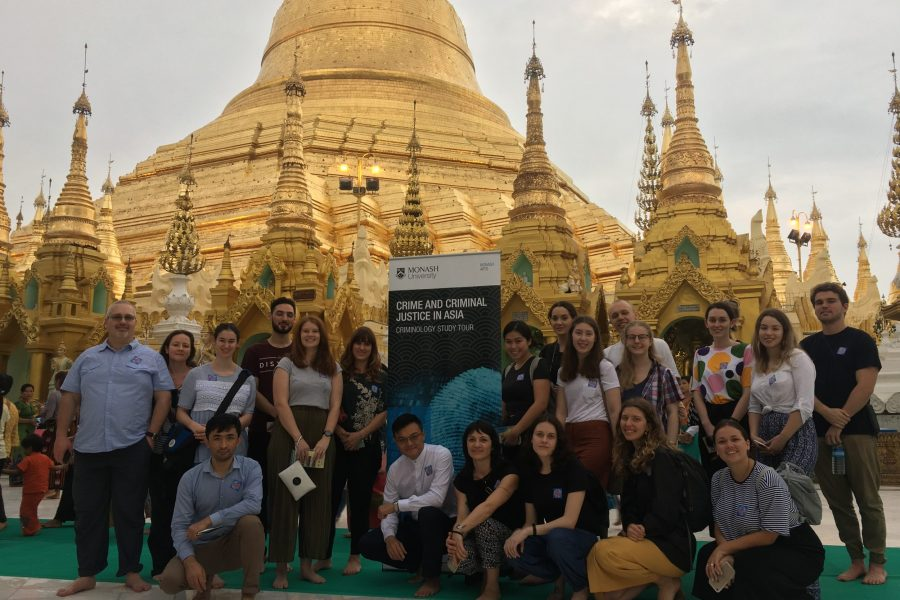 Monash Arts Myanmar Study Tour: Crime and Criminal Justice in Asia