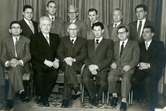 Bund committee circa 1955